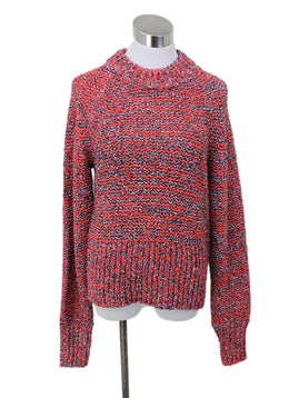 Current Elliott Red Acrylic Cotton Polyester Sweater Sz 2