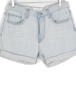 Current Elliott Light Blue Denim Shorts 1