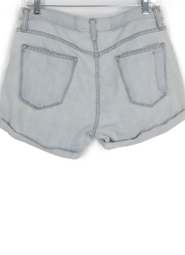Current Elliott Light Blue Denim Shorts 2