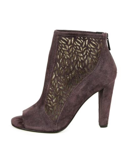DVF Purple Suede Shoes 1