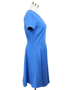 DVF Blue Viscose Polyamide Dress 2