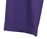DVF Purple Lilac Wool Pants 4