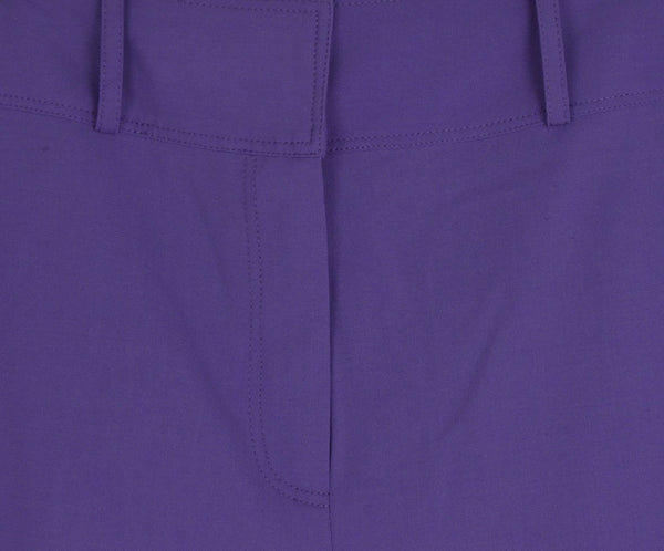 DVF Purple Lilac Wool Pants 5