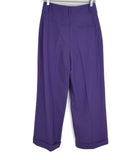 DVF Purple Lilac Wool Pants 2