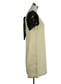 D&G Black and White Silk Evening Dress 2