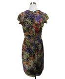 David Meister Yellow Orange Purple Dress 3