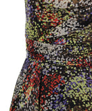 David Meister Yellow Orange Purple Dress 6