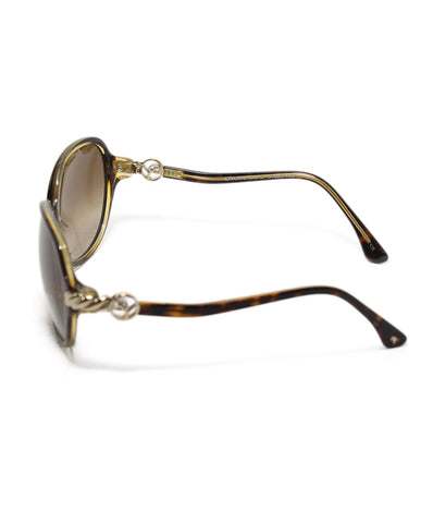 David Yurman brown plastic sunglasses 1