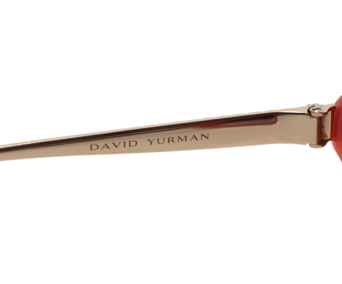 David Yurman Pink Rose Gold Plastic Sunglasses 5