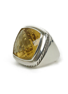 Ring David Yurman Sterling Silver Citrine 3