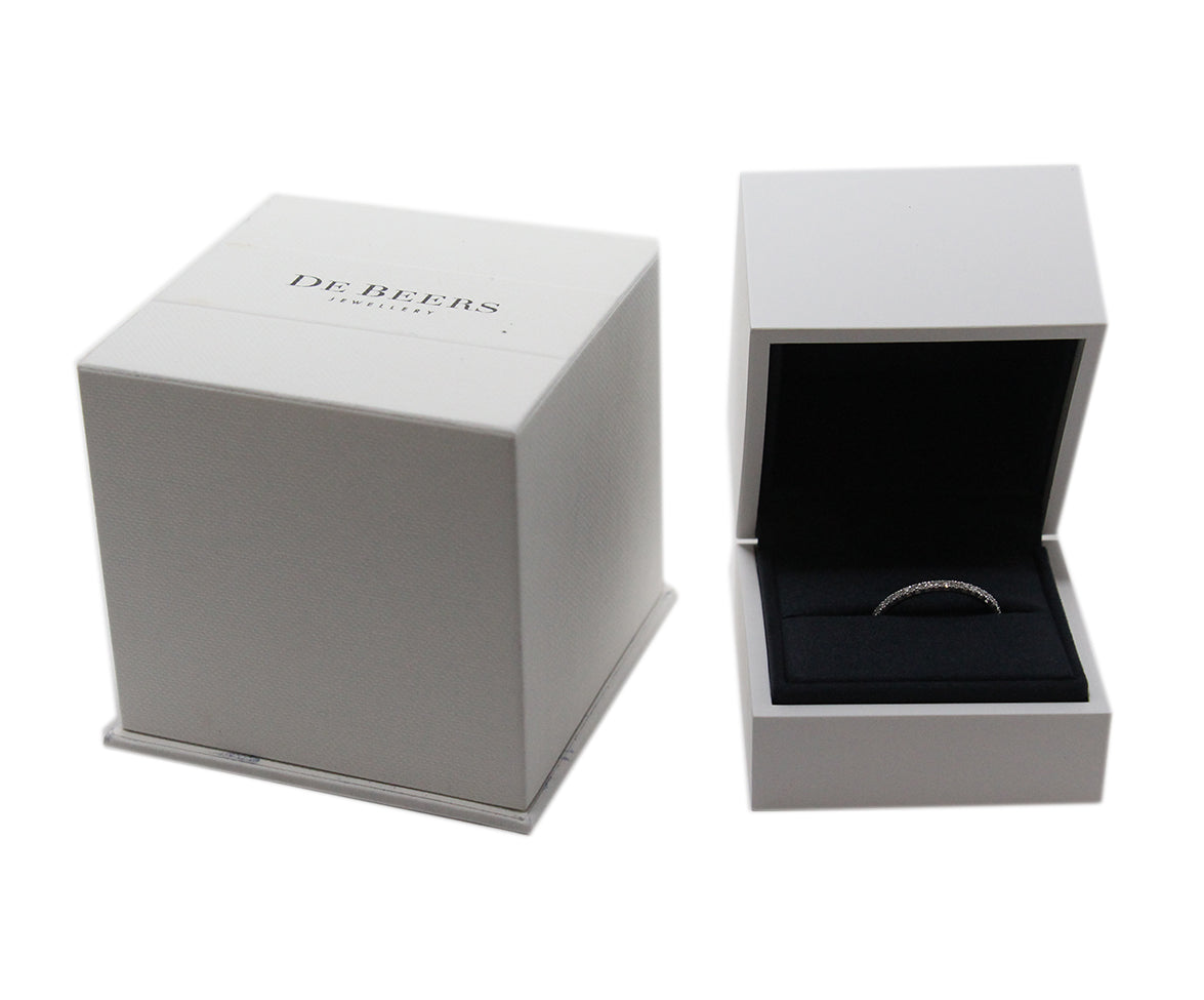 De Beers 18k White Gold Ring 2