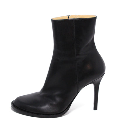Demeulemeester Black Leather Booties 1