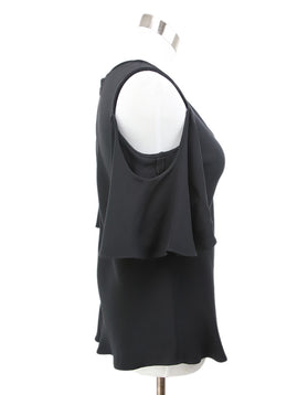 Derek Lam Black Silk Top 2