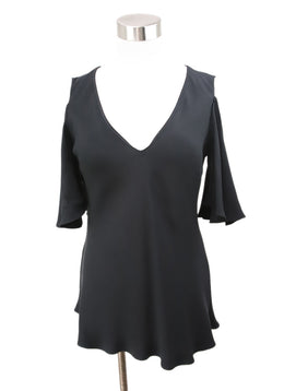 Derek Lam Black Silk Top 1