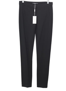 Derek Lam Black Viscose Rayon Pants 1