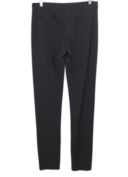 Derek Lam Black Viscose Rayon Pants 2