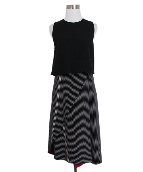 Derek Lam Black White Dress 1