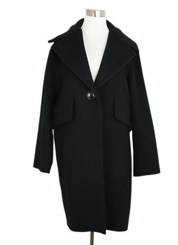 Derek Lam Black Wool Coat 1