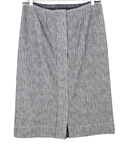 Derek Lam Blue Denim Skirt 1