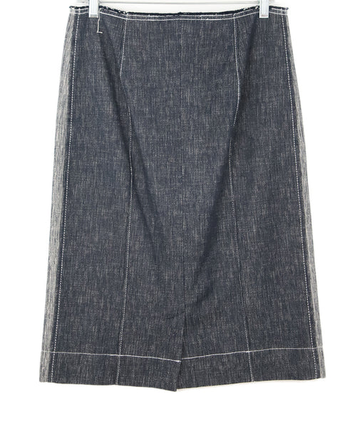 Derek Lam Blue Denim Skirt 2