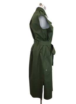 Derek Lam Green Cotton Dress 2