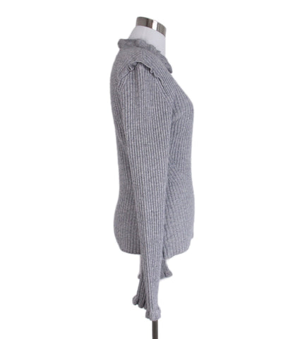 Derek Lam Grey Wool Sweater 1