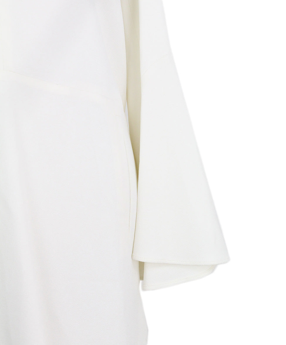 Derek Lam Open Shoulder Ivory Dress 7