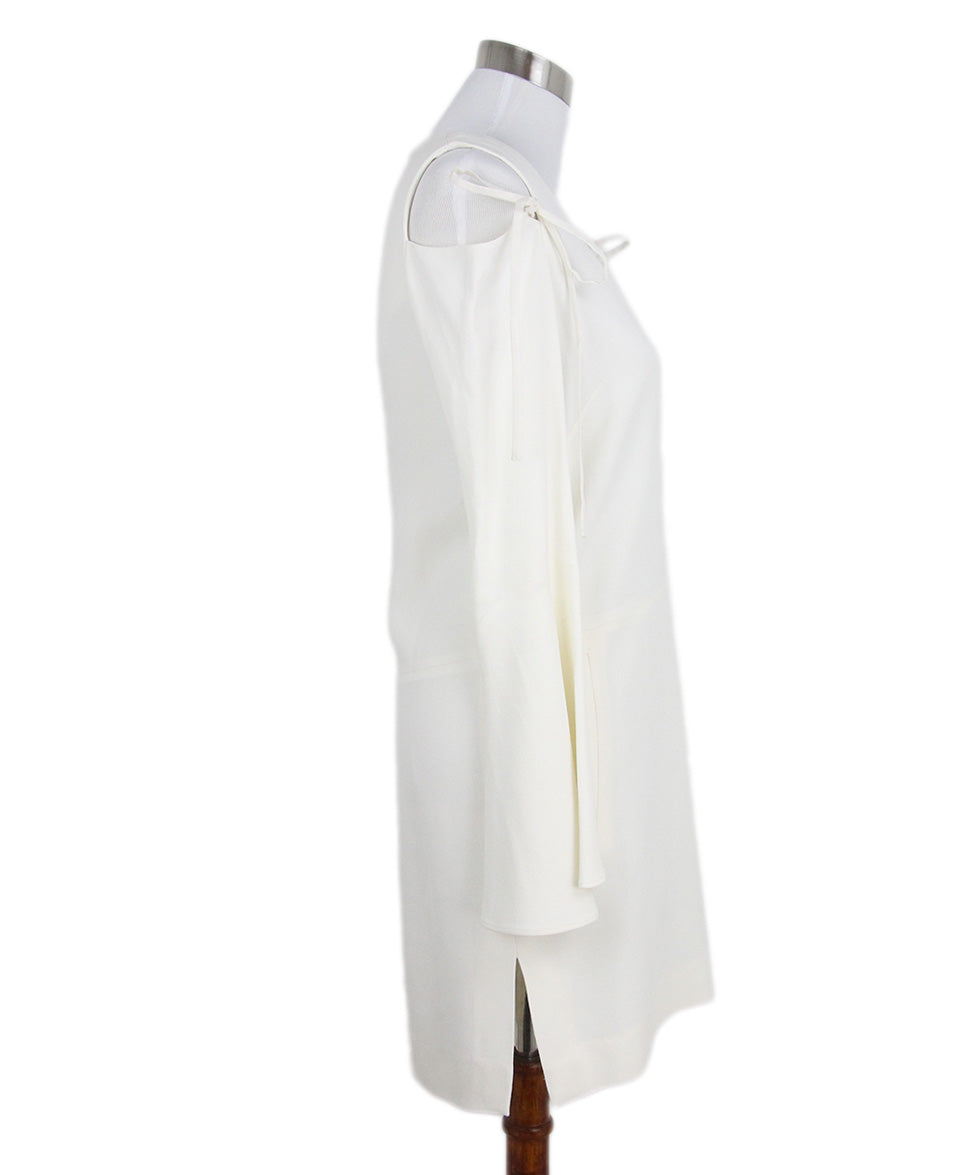 Derek Lam Open Shoulder Ivory Dress 2