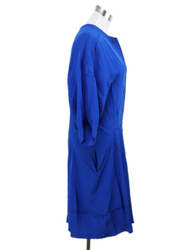 Derek Lam Blue Silk Dress 2