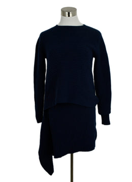 Derek Lam Blue Navy Cashmere Tunic Sweater 1