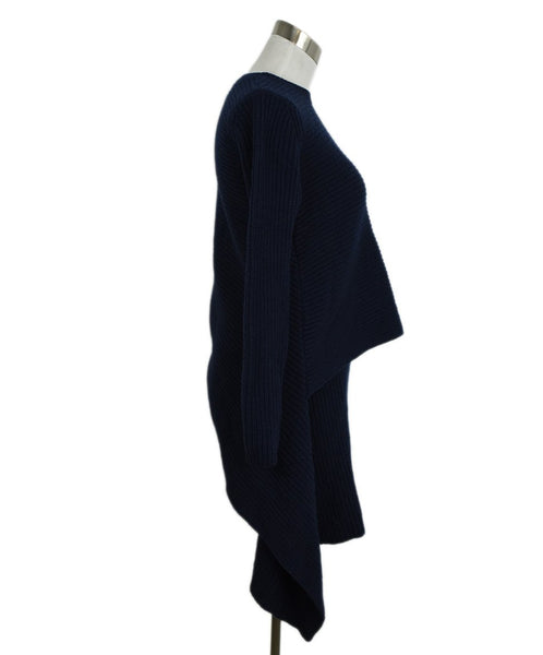 Derek Lam Blue Navy Cashmere Tunic Sweater 2