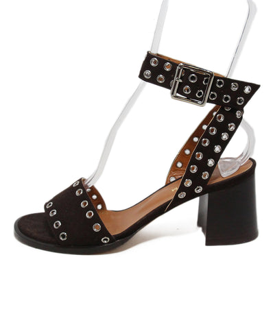 Derek Lam brown suede Sandals 1