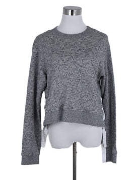 Derek Lam Grey Cotton Sweater 1