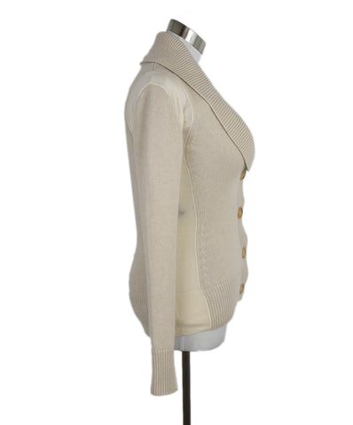 Derek Lam Neutral Beige Cashmere Silk Sweater 1