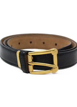 Devecchi Black Lizard Belt 1
