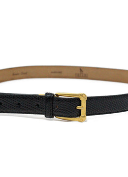 Devecchi Black Lizard Belt 2