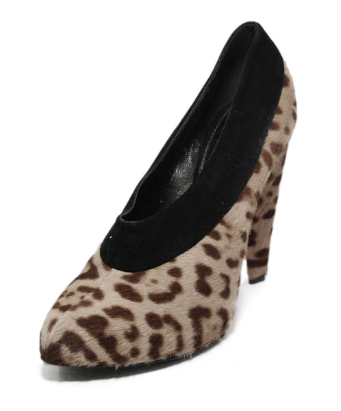 Dolce & Gabbana Animal Print Suede Booties 1