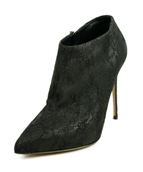 Dolce & Gabbana Black Lace Booties 1
