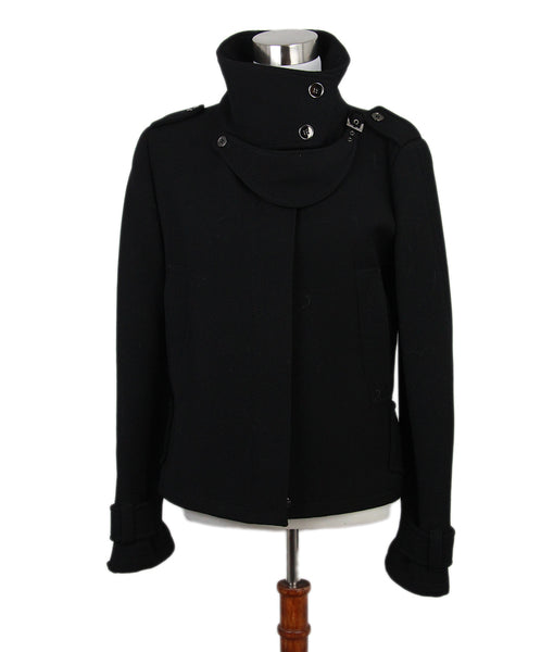 Dolce & Gabbana Black Wool Jacket 1
