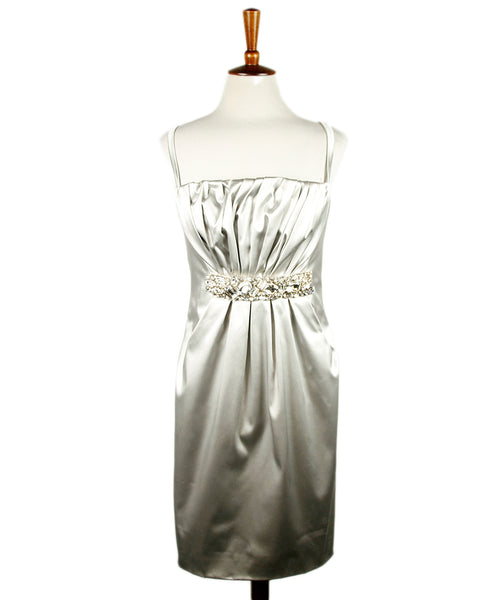 Dolce & Gabbana Silver Dress 1