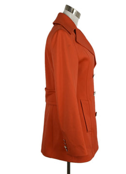 "Dolce & Gabbana Orange Coat ""As Is"" 2"