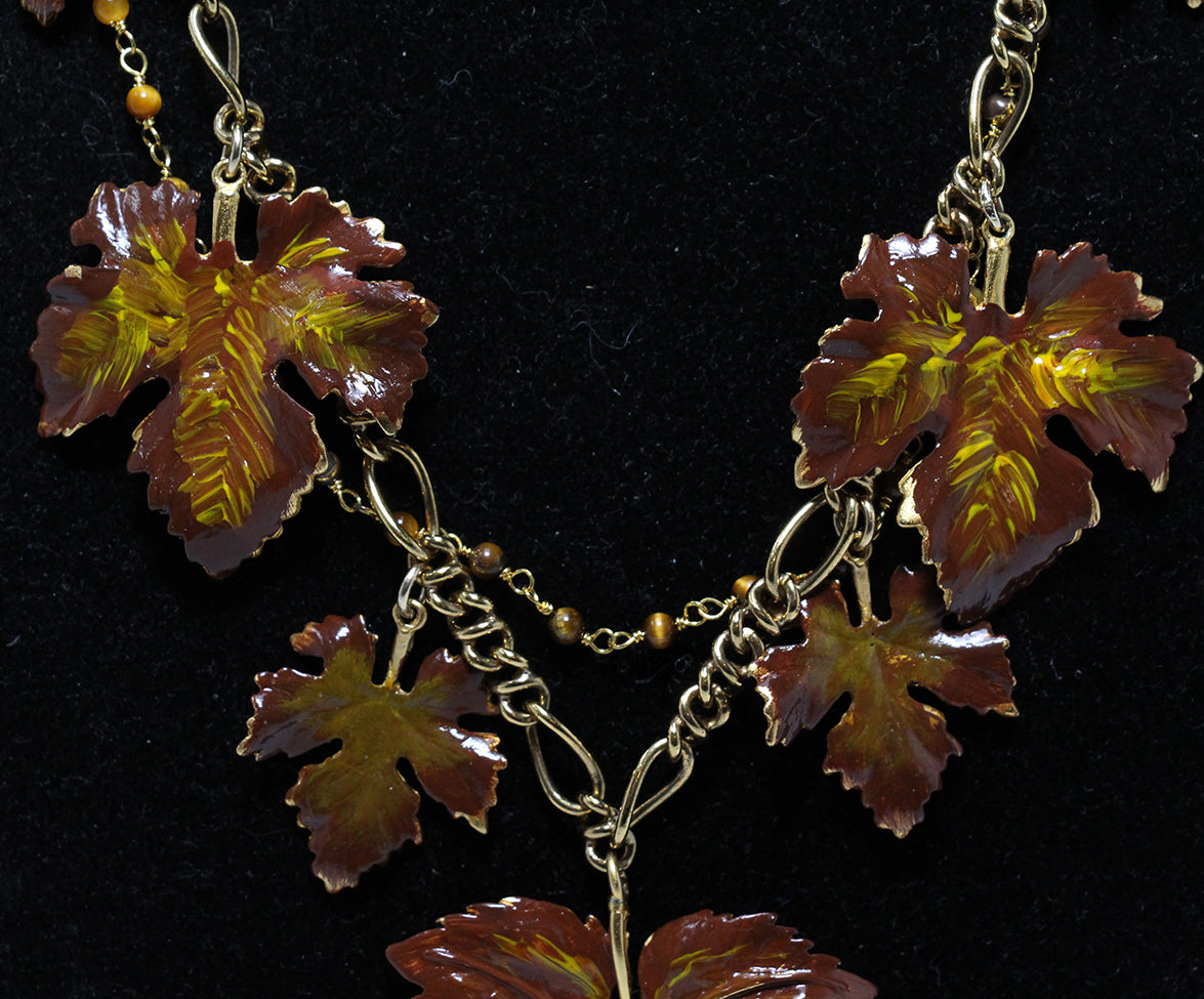 Dolce & gabbana leaf necklace 3