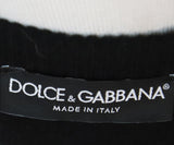 Dolce & Gabbana Black Wool Lace Sweater 4