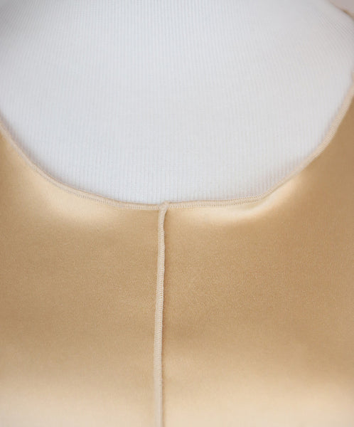 Dolce & Gabbana Neutral Tan Silk Top 5
