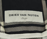 Dries Van Noten Metallic Silver Silk Polyester Jacket 4