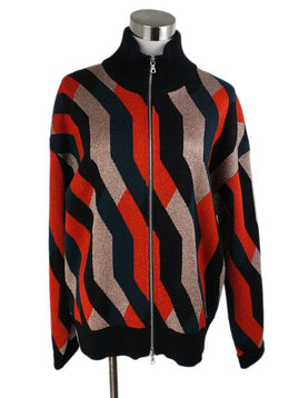 Dries Van Noten Multi Color Wool Lurex Sweater 1