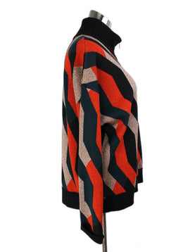 Dries Van Noten Multi Color Wool Lurex Sweater 2
