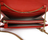 Elie Saab Orange Leather Crossbody Handbag 6
