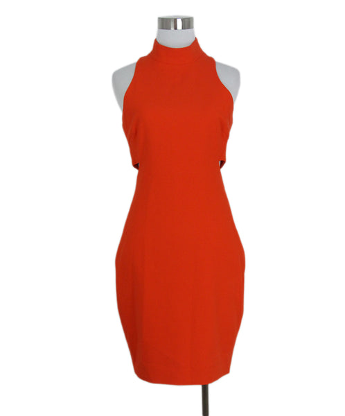 Elizabeth & James orange dress 1