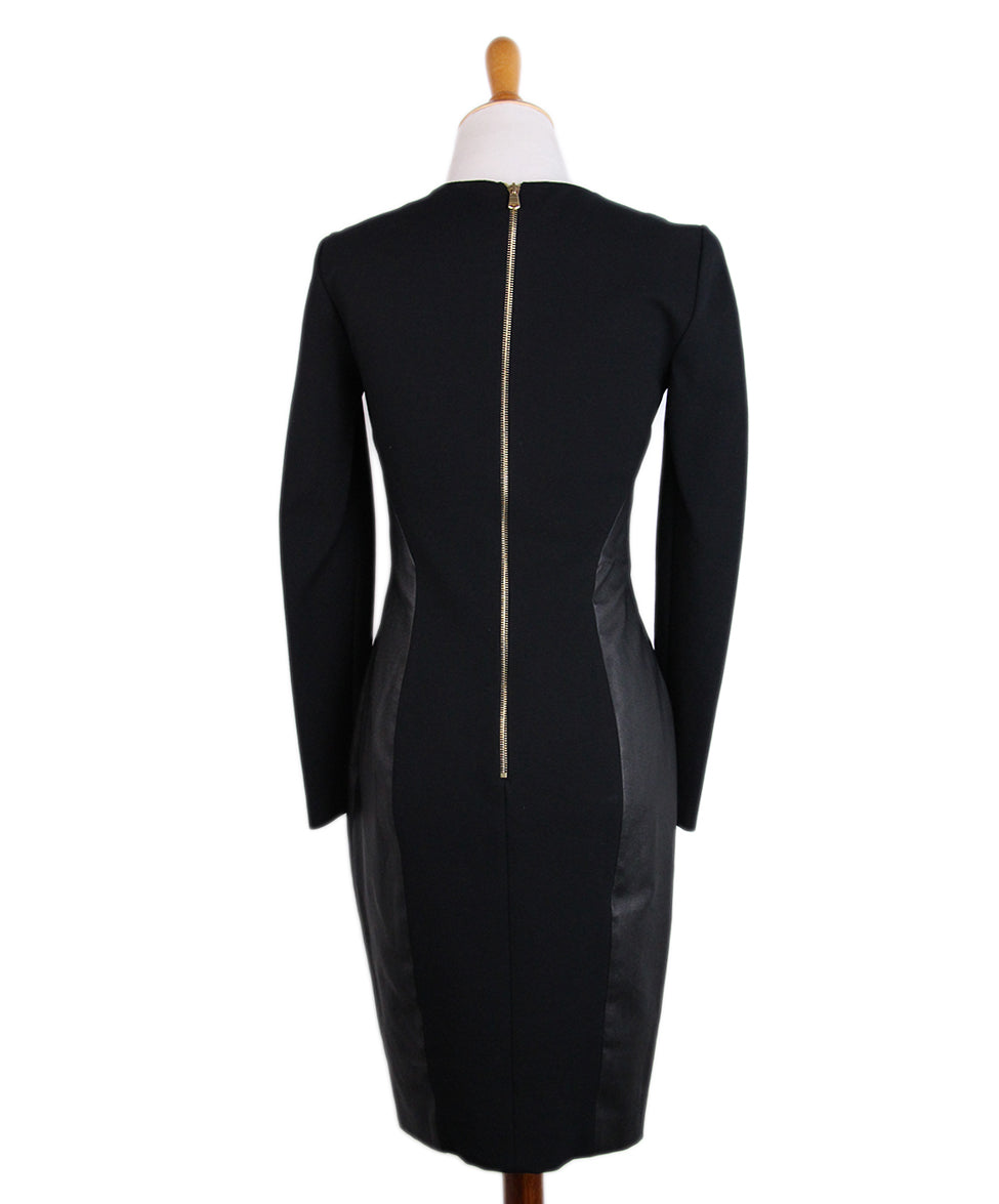 Emilio Pucci Black Leather Trim Dress 3